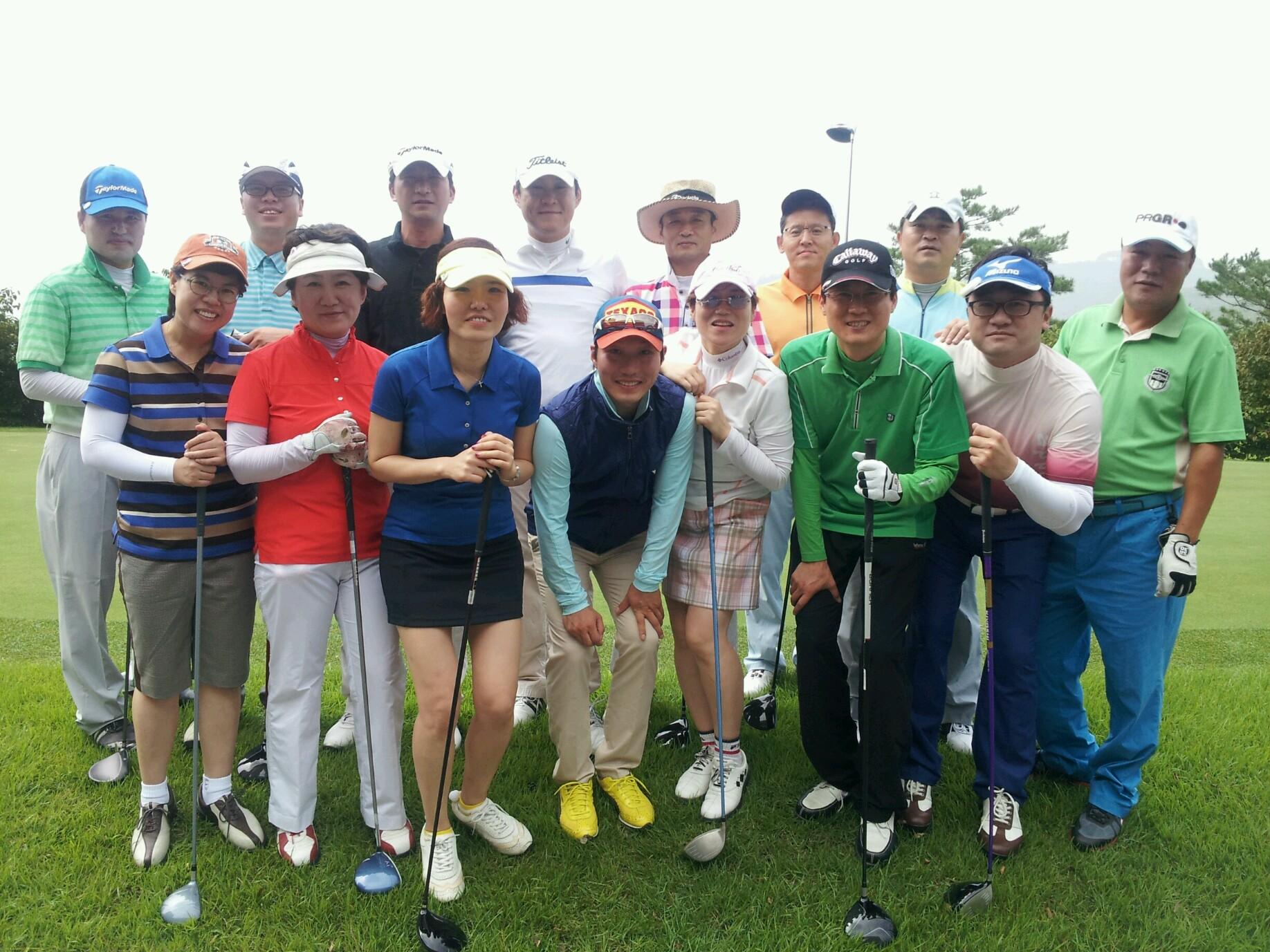 한양대 MBA 66기 골프모임