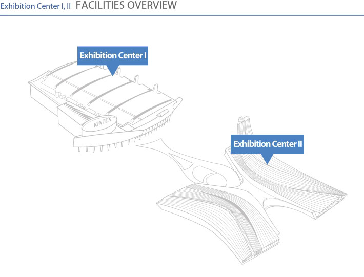 Exhibition Center 1, 2 FACILITIES OVERVIEW